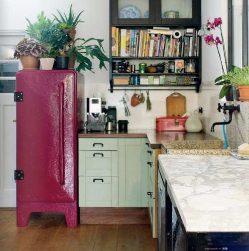 Eclectic Kitchens: Moon To Moon: Fridges: What Ever Happened To Good Design?