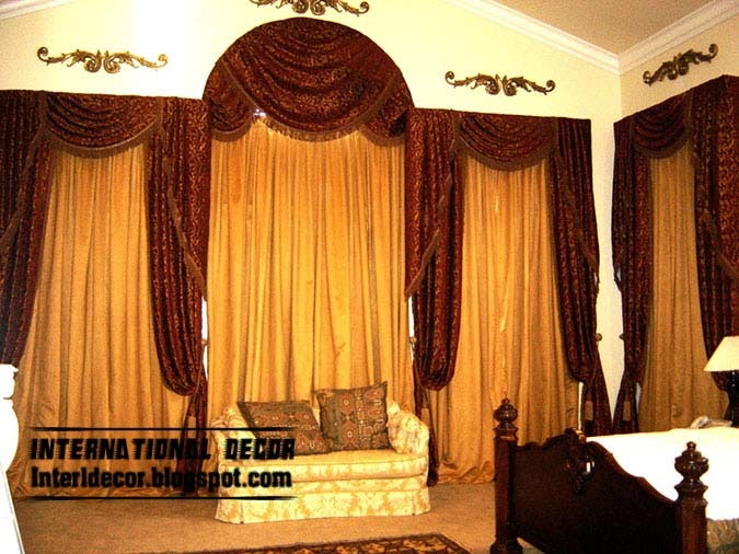 This is 10 latest classic curtain designs style for for Latest bedroom designs 2015