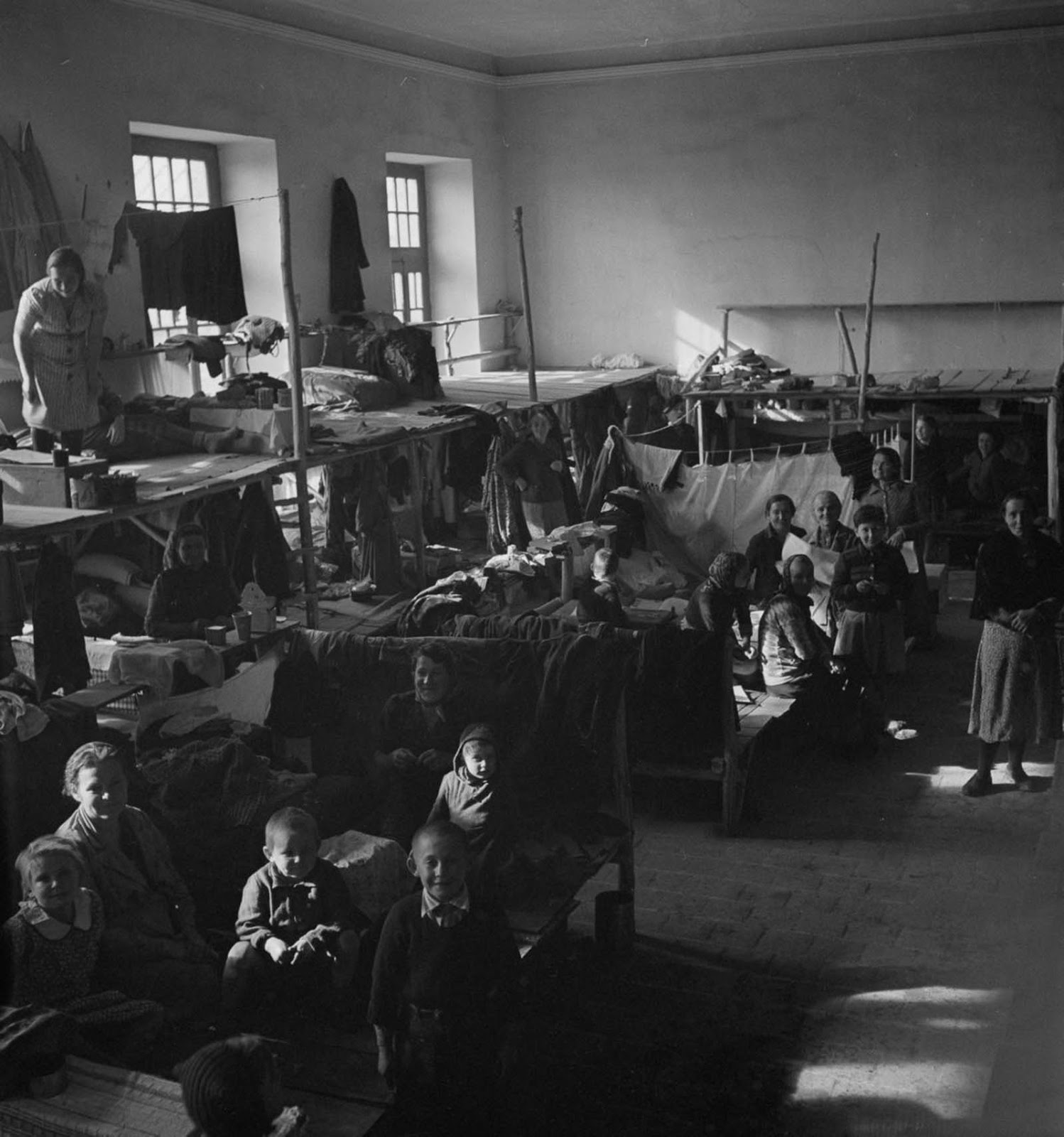 Thousands of the children who came to Iran came from orphanages in the Soviet Union, either because their parents had died or they were separated during deportations from Poland.
