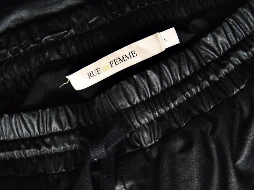"Leather imitate pants ""zarah"""