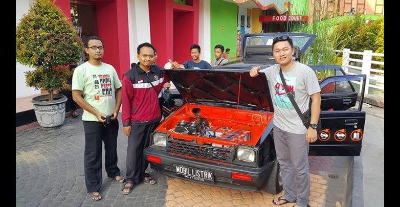 daihatsu charade listrik Wahyu Arief Budiman