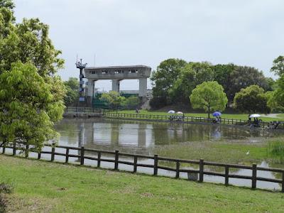 深北緑地公園 水辺のゾーン 寝屋川排水門