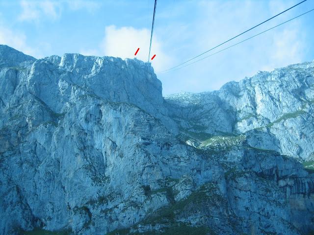 Rutas Montaña Asturias: Estación Superior del Teleférico de Fuente De