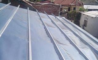 Pemasangan aluminium foil