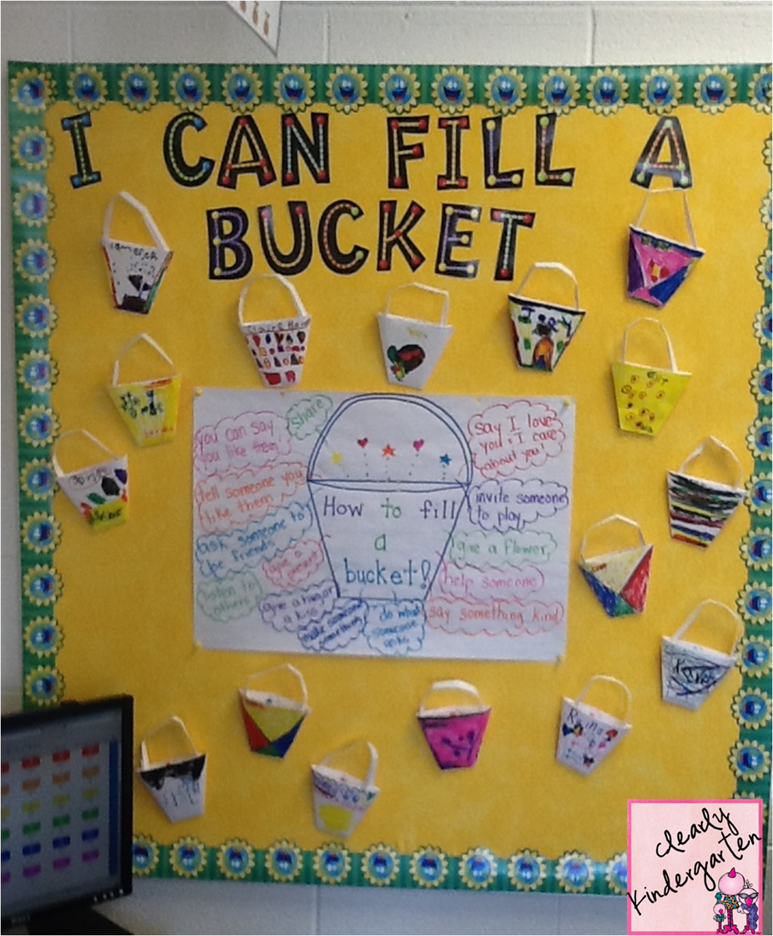 Clearly Kindergarten Bucket Filling