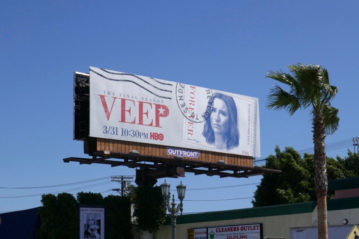 Veep season 7 billboard