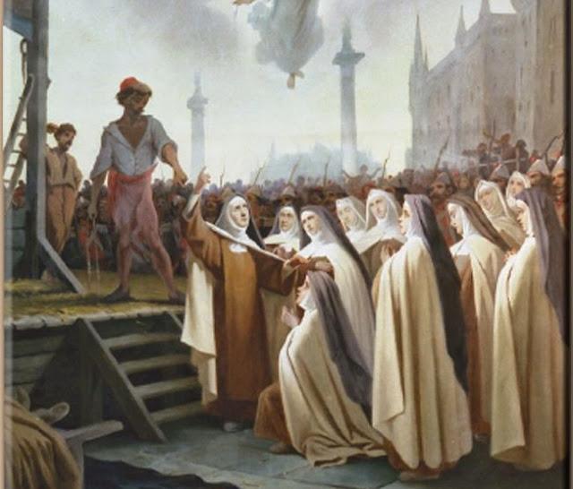 Resultado de imagen de monasterio de Compiègne