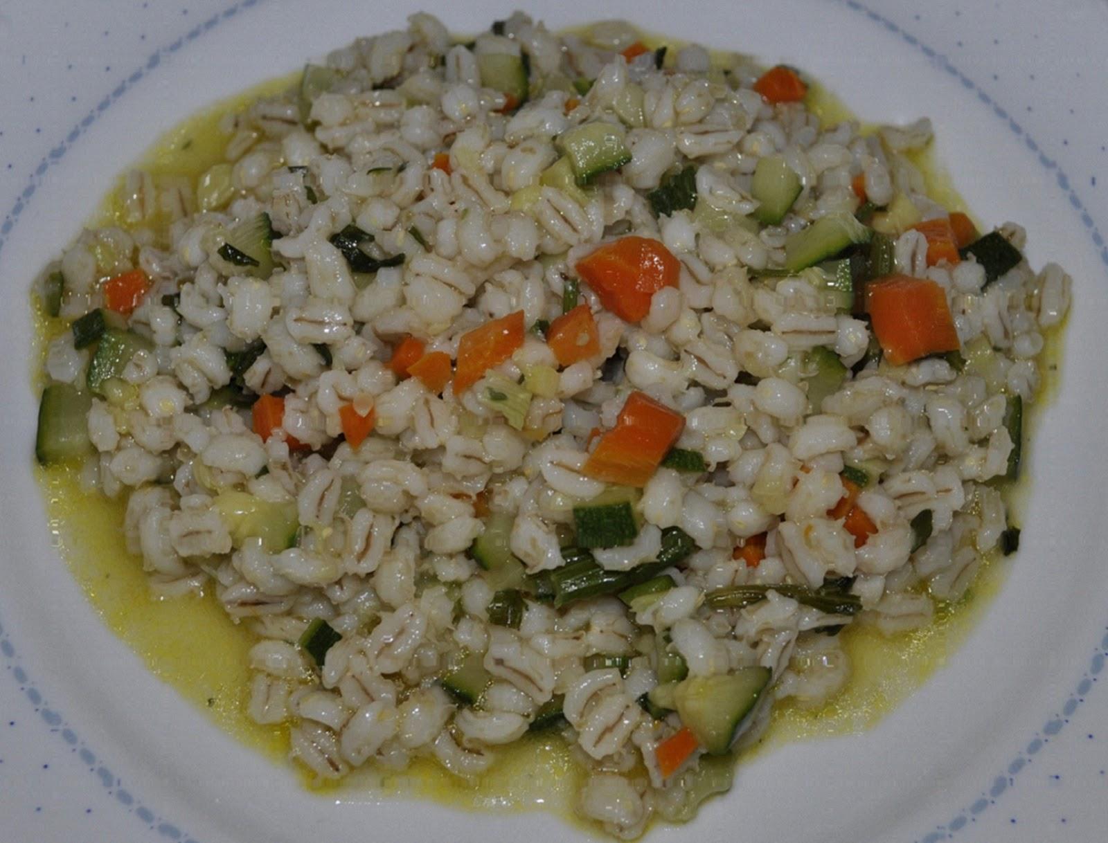 Zuppa d 39 orzo alle verdure cannella e gelsomino for Primi piatti leggeri