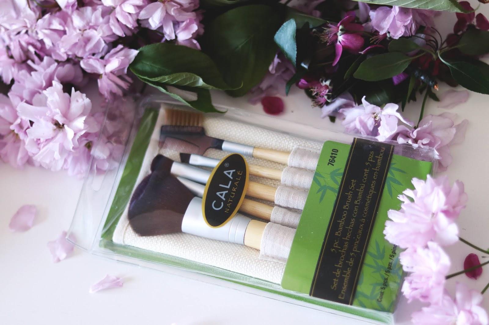 Pędzlę naturalne bambusowe Couleur Caramel