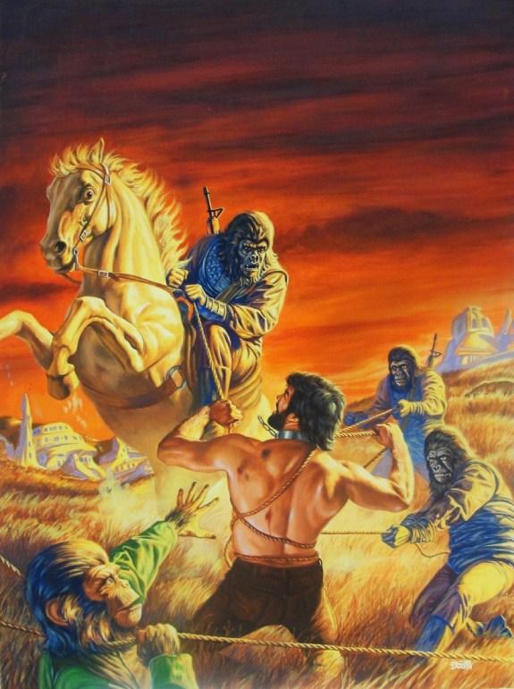dave karlen original art blog tom sutton s planet of the apes