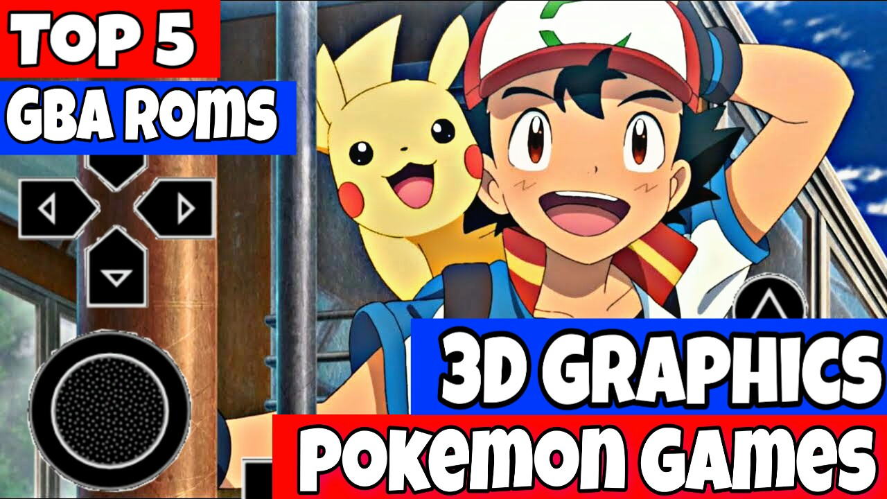 pokemon 3d game gba rom download