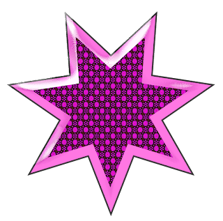 Free Printable Glam Stars Clipart.