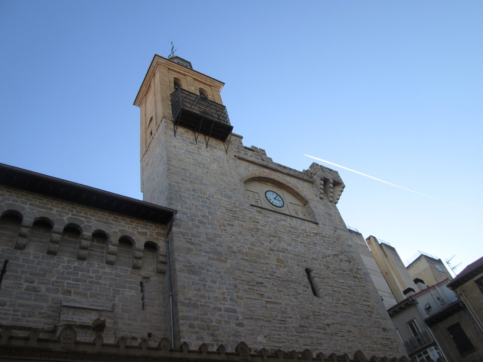 Tras Las Huellas De Herodoto Iglesia De San Nicolas De Pamplona