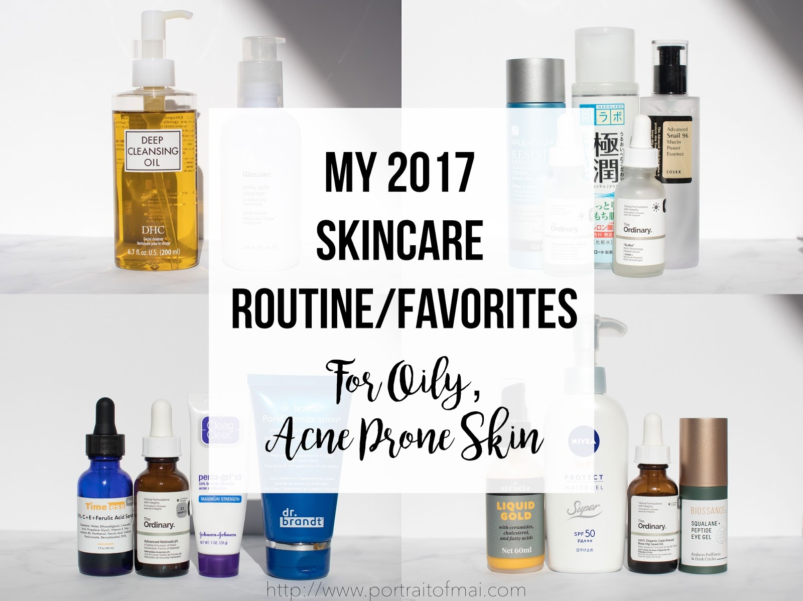 Skincare Routine for Oily Acne Prone Skin