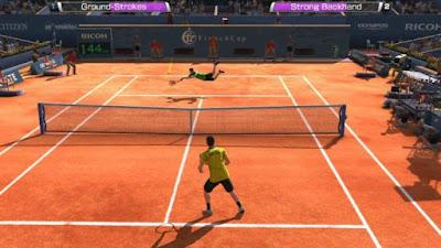تحميل لعبة التنس Virtua Tennis Challenge مهكرة للأندرويد