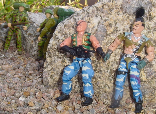 2004 Convention Exclusive Demolishor, Zanzibar, 1994 Action Soldier, Action marine