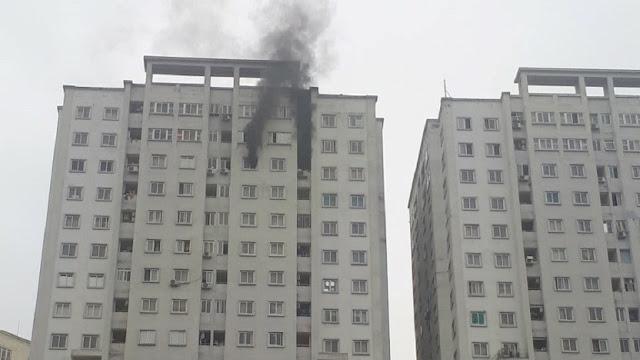 Cháy chung cư CT5 Văn Khê chuông báo cháy không hề hoạt động
