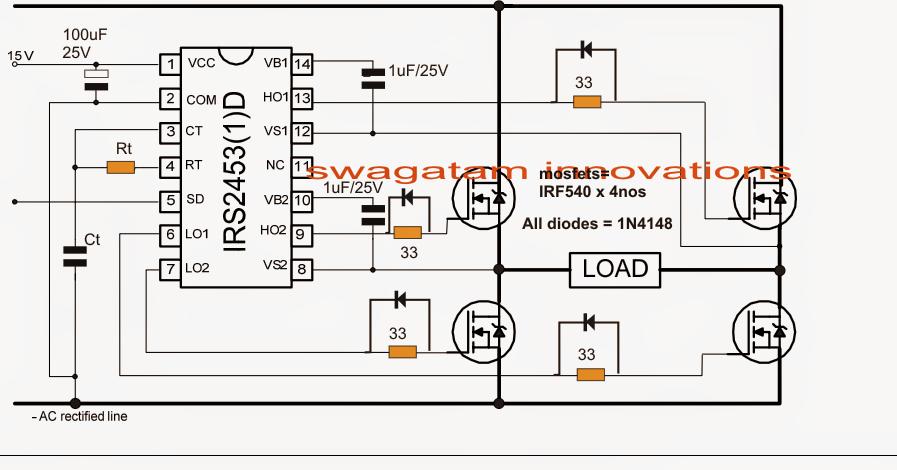 500w Solar Inverter Grid Tie Wiring Diagram Simplest Full Bridge Inverter Circuit Circuit Diagram Centre