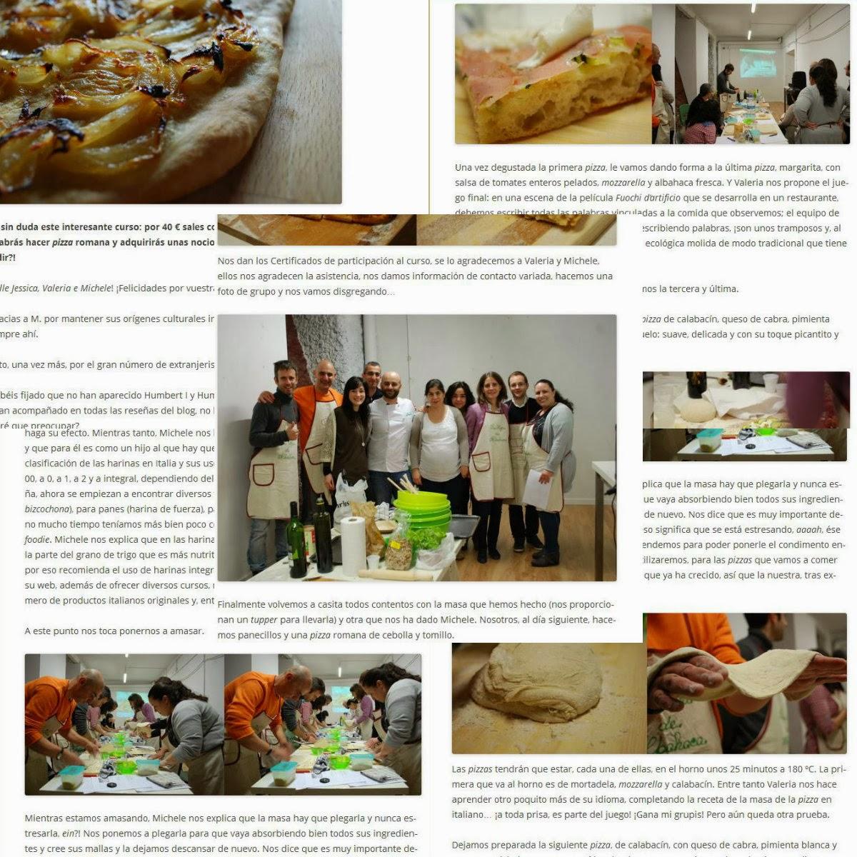pizza con espíritu, malasaña a mordiscos, pizza, talleres cocina, curso cocina , malasaña