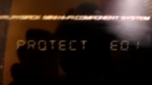 Falla en SONY PROTECT E01.