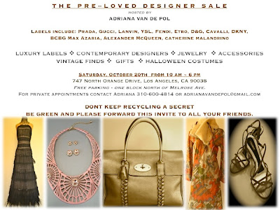 Don't miss this Pre-loved Designer Sale!