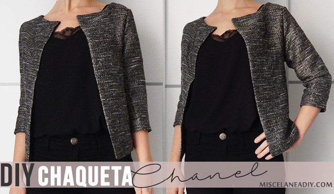 Diy chaqueta chanel