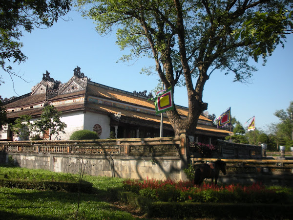 Palacio Suprema Armonia. Ciudadela de Hue (Vietnam)