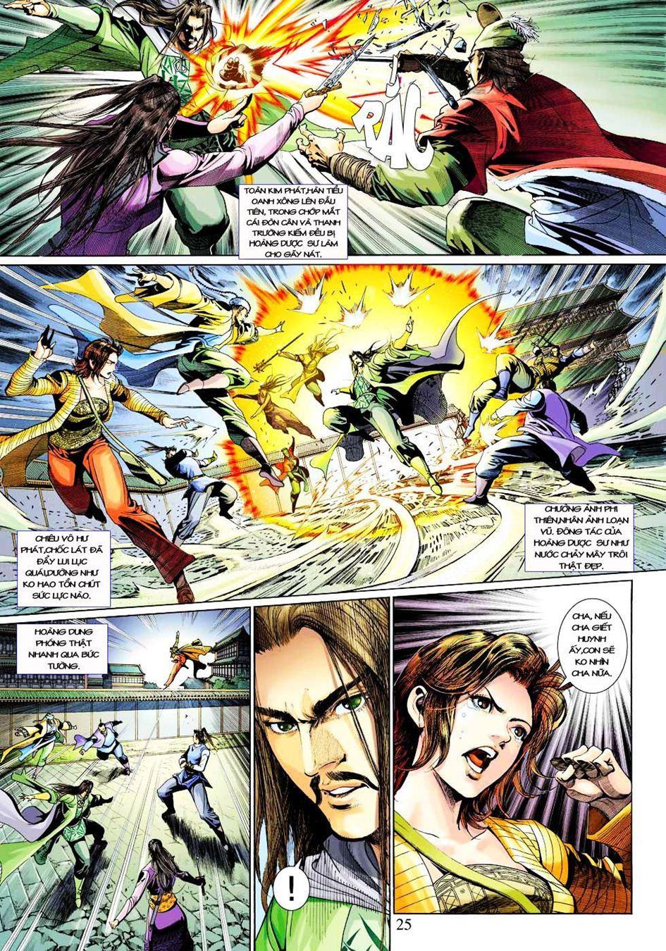 Anh Hùng Xạ Điêu anh hùng xạ đêu chap 33 trang 25
