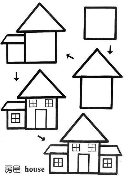 Cara Mudah Menggambar Rumah Untuk Anak-Anak