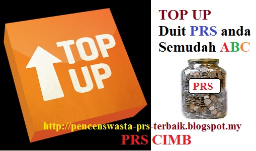 Cara Top Up Duit PRS Private Retirement Scheme