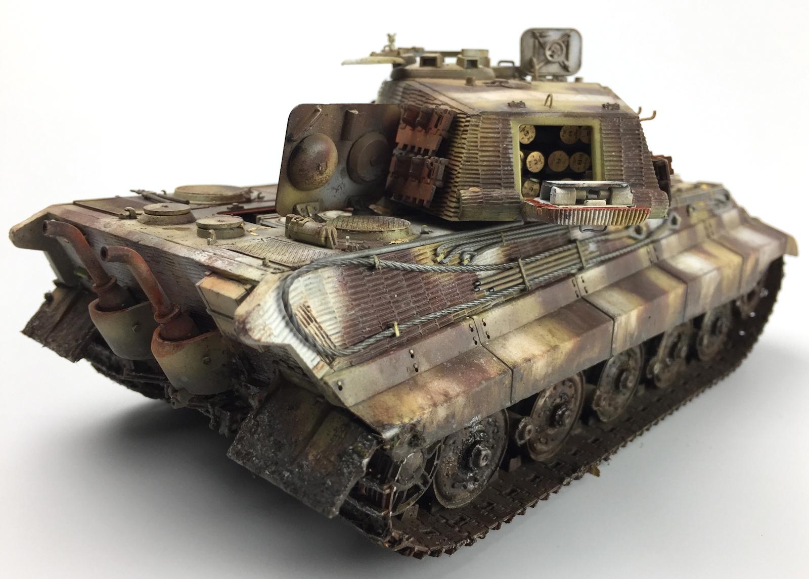 "kit 1//35 takom international no 2047 Sd.kfz.182 /""king tiger henschel turret/"""