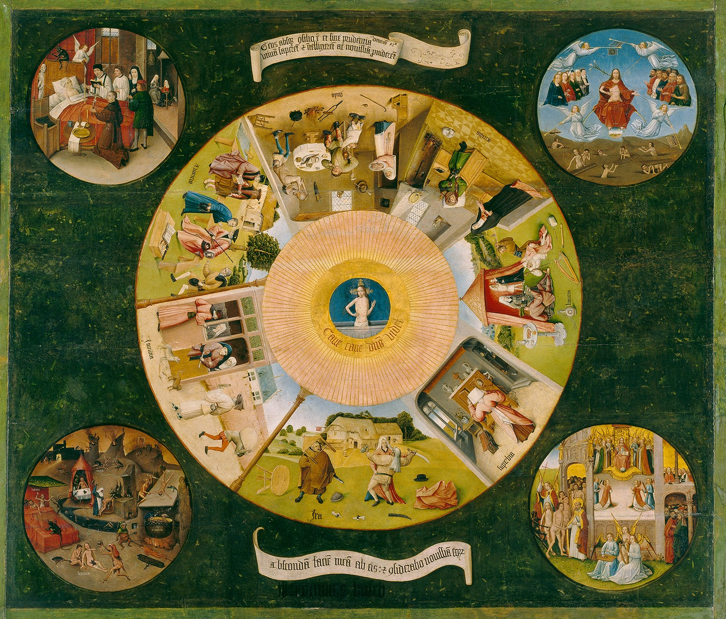 El Bosco - Mesa de los pecados capitales