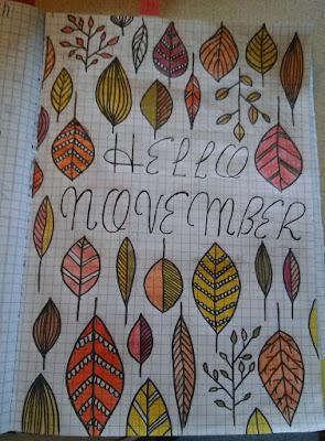 bujo listopadowo-grudniowe :)