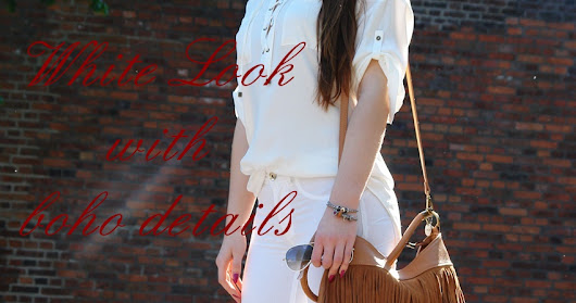Total White Look With Boho Details
