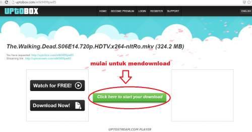 cara mudah download di uptobox