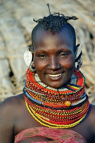 Turkana woman hair