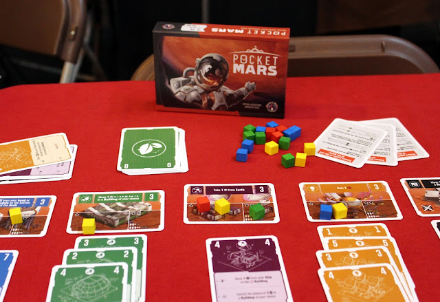 Pocket Mars - Board & Dice