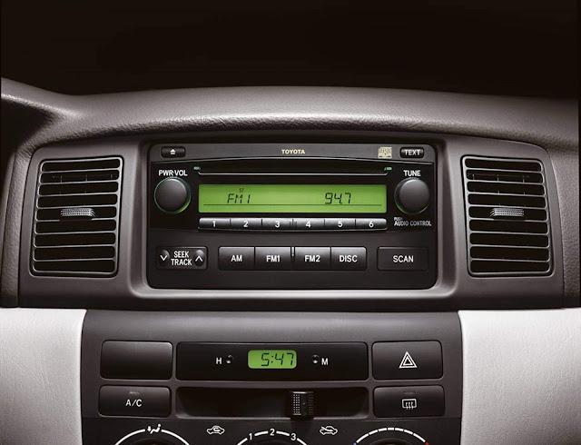 Toyota Corolla 2008 Flex - XEI - sistema de som