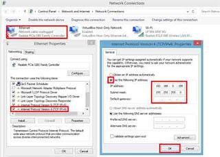 Gambar 4 Instalasi Jaringan Server CBTUN