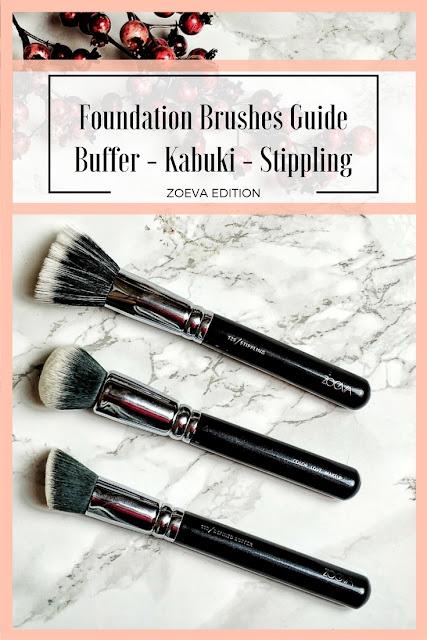 Foundation Brush Guide Buffer Kabuki Stippling Zoeva Edition