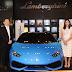 Niche Cars Group first-time showcases Lamborghini  Huracán LP 610-4 Spyder at Siam Paragon Showroom Bangkok