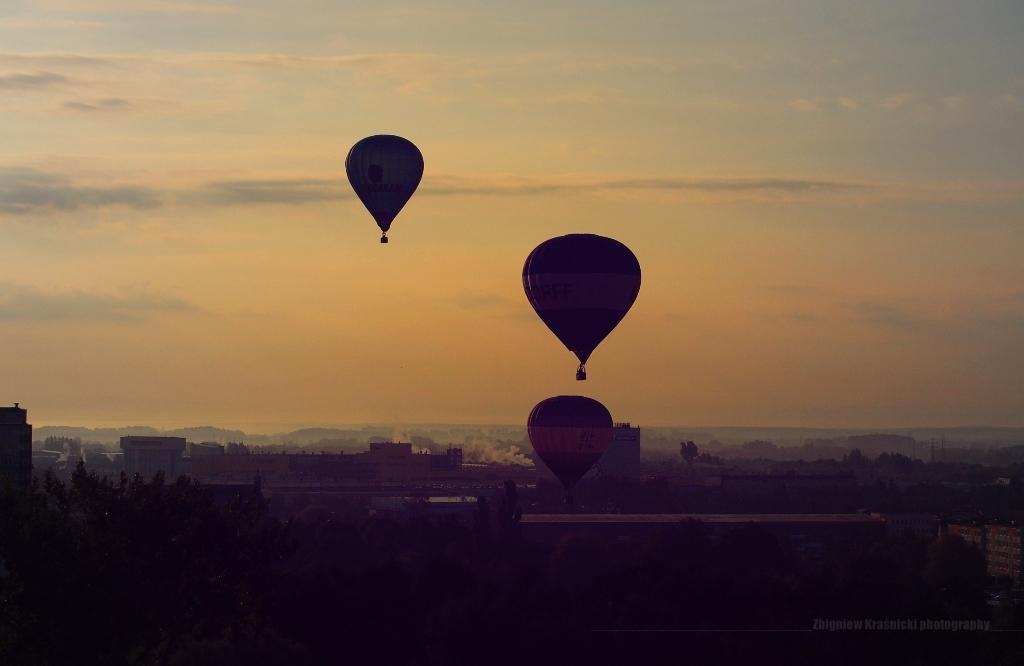 Balonowy Olsztyn i o historii sterowców w Dywitach