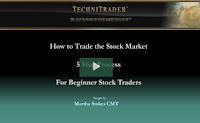 how to trade the stock market webinar - technitrader