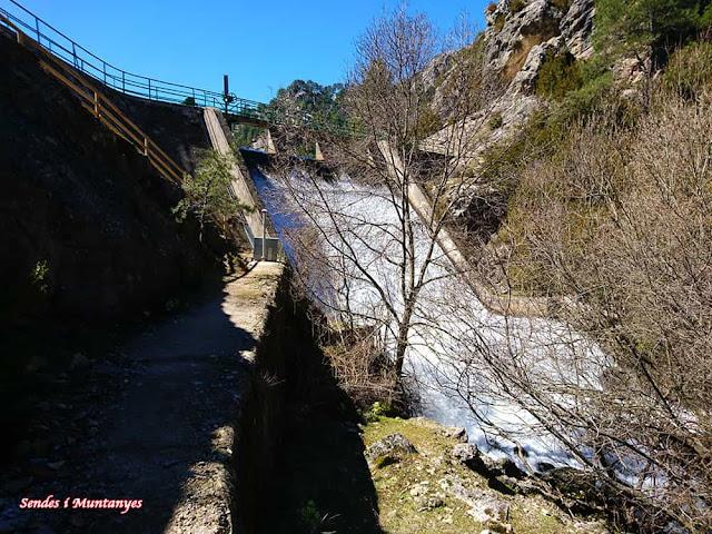 Embalse Órganos, Nacimiento río Borosa, Pontones, Sierra de Cazorla, Jaén, Andalucía