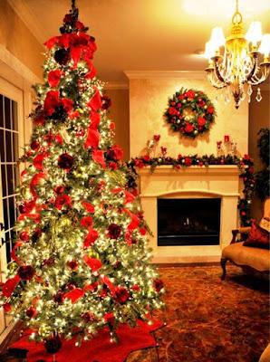 Gambar Dekorasi Pohon Natal 2015 Terindah