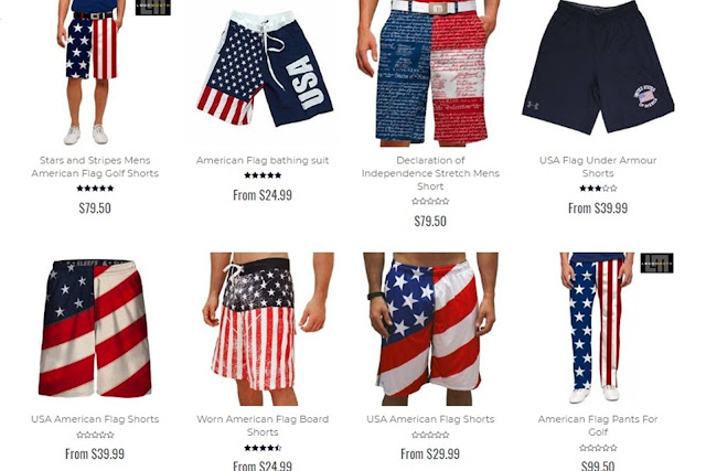 patriotic pants design, patriotic shorts design. men's pants, men's shorts
