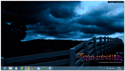 THEME WINDOWS 8 DARKSKIES &  DARKSKIESDARKEDITION