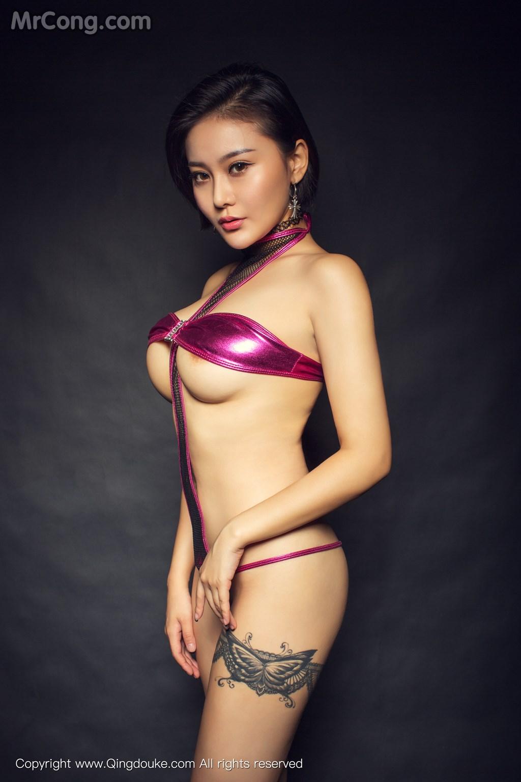 Image MrCong.com-QingDouKe-2016-11-17-Chan-009 in post QingDouKe 2016-11-17: Người mẫu Chan (婵) (44 ảnh)