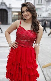 Hansika Motwani in lovely Red Mini Dress Dance Stills 17 .xyz.jpg
