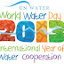 World Water Day 2013: Water Cooperation